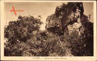 Ha Tien Vietnam, Environs du chef lieu Nui Lang, Blick auf einen Felsen