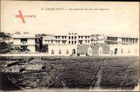 Casablanca Marokko, Vue generale des nouvelles Casernes