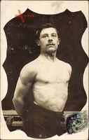 Passepartout  Frankreich, Gewichtheber, Körperkultur, Oberkörper