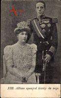 König Alfons XIII. von Spanien, Victoria Eugénie von Battenberg