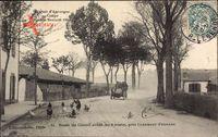 Circuit dAuvergne, Coupe Gordon Bennet 1905, Route près Clermont Ferrand