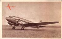 Douglas DC 3, Service sur les Lignes Air France, Passagierflugzeug