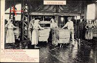 Le Moulinage, La Recette du Charbon, Kohlenverladung