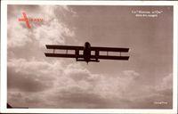Le Rayon dOr dans les nuages, Französisches Flugzeug, Air Union
