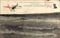 Louis Blériot franchit le premnier la Manche en aéroplane, 25 Juillet 1909