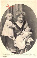 Victoria Eugénie von Battenberg, Königin von Spanien, Maria Cristina,Don Juan