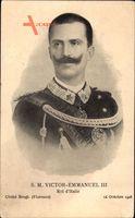 Vittorio Emanuele III., König Viktor Emanuel III. von Italien