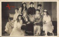 Luxemburgischer Adel, Großherzogin Maria Anne, Großherzogin Marie Adelheid, Hilda, Charlotte, Antonie, Sophie, Adelheid Marie, Elisabeth von 1916