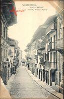 Fuenterrabia Baskenland Spanien, Calle Mayor, Straßenpartie, Tor