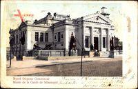 Sebastopol Ukraine, Musee de la Garde, Straßenpartie mit Blick auf Gebäude