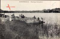 Kurungeala Sri Lanka, Paysage, Colombo, Flusspartie, Frauen am Wasser