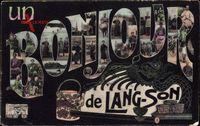 Buchstaben Lang Son Vietnam, Un Bonjour de, Volkstypen, Vietnamesen