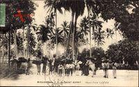 Martinique, Missions des P. P. du Saint Esprit, Depart dune Caravane