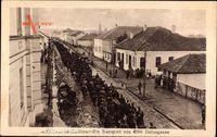 Serbien, Ein Transport von 4500 Gefangenen, Kriegsgefangene