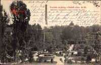 Rostoff am Don Russland, Jardin de ville, Blick in eine Gartenanlage