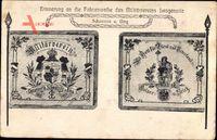 Langenorla Saale Orla Kreis, Fahnenweihe des Militärvereins, 1911