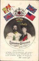 Passepartout König Georg V. von England, Maria von Teck