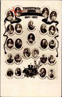 Zar Nikolaus II. von Russland, Stammbaum 1613 bis 1913, Romanov