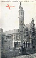 Brüssel, Expo, Weltausstellung 1910, Pavillon de la Ville de Gand