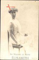 Königin Elisabeth Gabriele von Belgien, Ehefrau Albert I.