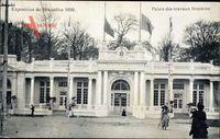 Brüssel, Expo, Weltausstellung 1910, Palais des travaux féminins