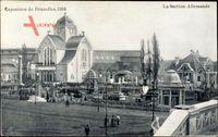 Brüssel, Expo, Weltausstellung 1910, La Section Allemande