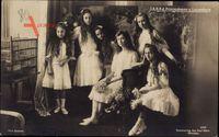 Prinzessinnen von Luxemburg, Gruppenfoto, Hilda, Maria Adelheid