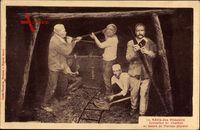 Série des Mineurs, Extraction du Charbon, Kohleabbau unter Tage