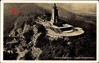 Steinthaleben Kyffhäuserland, Fliegeraufnahme vom Kyffhäuser Denkmal