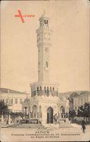 Batoum Georgien, Fontaine Commémorative du 25e Anniversaire du Sultan