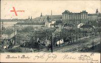 Praha Prag, Novy Svet, Neue Welt, Siedlung, Gebäude, Straße