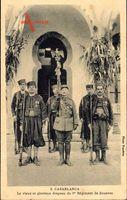 Casablanca Marokko, Drapeau du 1er Régiment de Zouaves