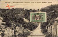 Saint Pierre Martinique, 10 Ans apres la catastrophe, la Rue de la Madeleine
