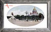 Passepartout Sankt Petersburg Russland, Peter der Große, Kathedrale