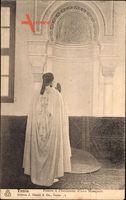 Tunis Tunesien, Priere a lInterieure dune Mosquee, Geistlicher