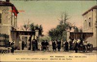 Sidi Bel Abbes Algerien, Quartier du deuxeme Spahis, Pferde, Soldaten