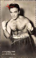 La lunette Marcel Cerdan, Französischer Boxer