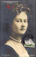 Portrait von I. K. H. Großherzogin Marie Adelheid von Luxemburg um 1912