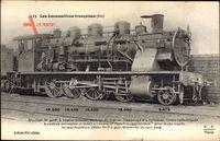 Französische Eisenbahn, No. 4038, type Consolidation, construite en 1907 1909