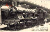 Französische Eisenbahn, Locomotive, No. 3175, Est, Dampflok