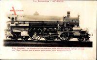 Österreichische Eisenbahn, Locomotive, Wien Florisdorf, Dampflok