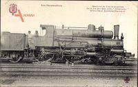Französische Eisenbahn, Cie de lEst, Locomotive, Chameau, No. 839