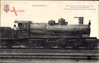 Französische Eisenbahn, Locomotive, Cie de lEst, Serie 10, Modele 1900, 3419
