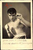 Französischer Boxer Jean Pierre Monteil, Team Cadets de Gascogne