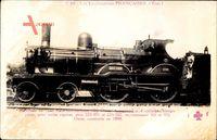 Französische Eisenbahn, No. 220 502, Ouest, Locomotive, construite 1898