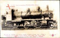 Französische Eisenbahn, No. 130 609, Locomotive, type Mogul, construite 1882