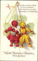 Nénette et Rintintin et Radadou, Porte Bonheur, Puppen, Klee