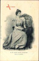 Königin Maria Christina von Spanien, Reina Regente