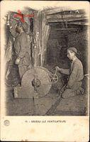 Grisou, Le Ventilateur, Ventilator, Bergmänner, Kohleabbau