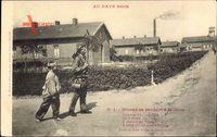 Au Pays Noir, Mineur se rendant à la Mine, Bergarbeiter